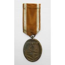 German WW2 West Wall Medal