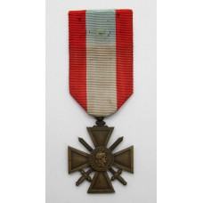 French Croix de Guerre for Exterior Operations (1939-45)