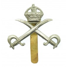 Army Physical Training Corps (A.P.T.C.) Cap Badge - King's Crown