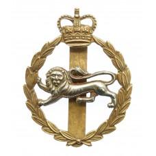 King's Own Royal Border Regiment Bi-Metal Cap Badge - Queen's Crown