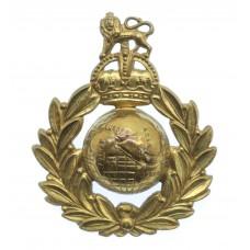 Royal Marines Cap Badge - King's Crown