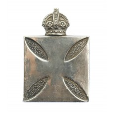 Royal Army Chaplains Department WW1 Silvered Cap Badge (Ludski & Son)