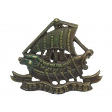 Indian Army 2nd Punjab Regiment Officer's Service Dress Cap Badge