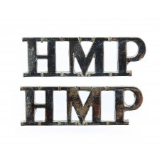 Pair of H.M. Prison Service (H.M.P.) Shoulder Titles