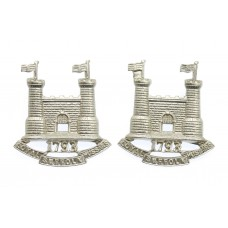 Pair of  Loyal Suffolk Hussars Yeomanry Collar Badges