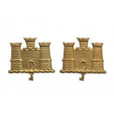 Pair of Suffolk Regiment Collar Badges