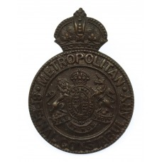 Metropolitan Police Special Constabulary Cap Badge - King's Crown