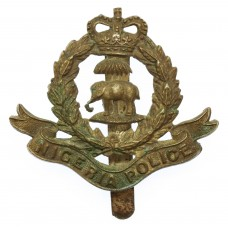 Nigeria Police Cap Badge - Queen's Crown