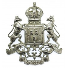 Aberdeen City Police Helmet Plate - King's Crown