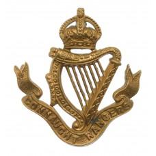 Edwardian Connaught Rangers Cap Badge