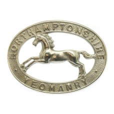 Northamptonshire Yeomanry Cap Badge