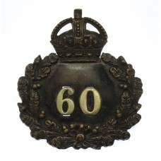 Oxford City Police Wreath Cap Badge - King's Crown (c.1930)