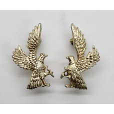 Pair of Ghana Police Anodised (Staybrite) Collar Badges
