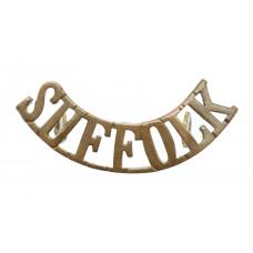 Suffolk Regiment (SUFFOLK) Shoulder Title