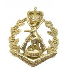 Royal Australian Regiment Anodised (Staybrite) Cap Badge