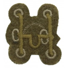 British Army Saddler/Harness Maker Cloth Trade Badge