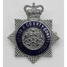 Northampton & County Constabulary Senior Officer's Enamelled