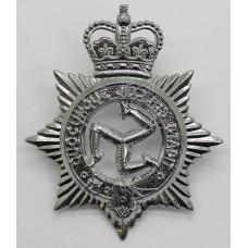 Isle of Man Constabulary Cap Badge - Queen's Crown