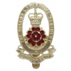 Queen's Lancashire Regiment Anodised (Staybrite) Cap Badge