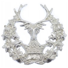 Gordon Highlanders Anodised (Staybrite) Cap Badge