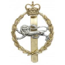 King's Own Royal Border Regiment Anodised (Staybrite) Cap Badge