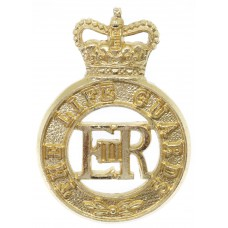 The Life Guards Anodised (Staybrite) Cap Badge