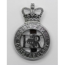 Cumbria Constabulary Cap Badge - Queen's Crown