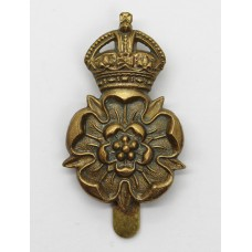 Yorkshire Dragoons Cap Badge - King's Crown