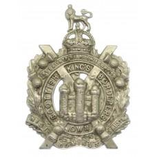 King's Own Scottish Borderers (K.O.S.B.) Cap Badge - King's Crown