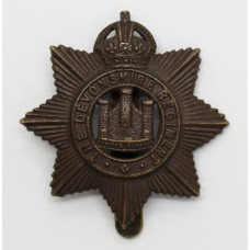 4th (Territorial) Bn. Devonshire Regiment Cap Badge