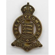 Essex Yeomanry Cap Badge - King's Crown