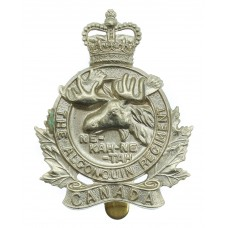 Canadian The Alonquin Regiment Cap Badge - Queen's Crown