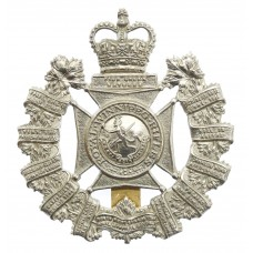 Canadian Royal Winnipeg Rifles Cap Badge - Queen's Crown