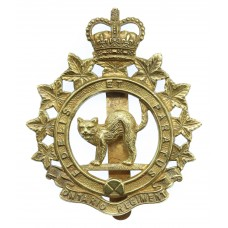 Canadian Ontario Regiment Cap Badge - Queen's Crown