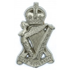 Royal Ulster Rifles WW2 Plastic Economy Cap Badge