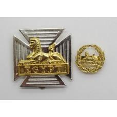 Royal Gloucestershire, Berkshire & Wiltshire Regiment Cap Badge & Back Badge