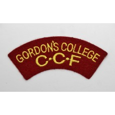 Gordon's College Combined Cadet Force (GORDON'S COLLEGE C.C.F.) C