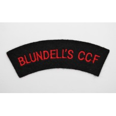 Blundell's Combined Cadet Force (BLUNDELL'S CCF) Cloth Shoulder T