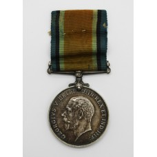 WW1 British War Medal - Pte. E. Barker, Army Veterinary Corps