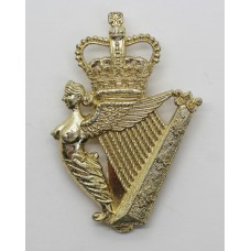 Ulster Defence Regiment Anodised (Staybrite) Cap Badge