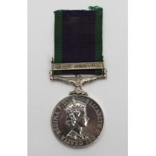Campaign Service Medal (Clasp - Malay Peninsula) - C. Gilpin, Ck.