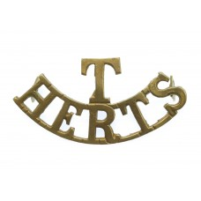 Hertfordshire Regiment Territorials (T/HERTS) Shoulder Title