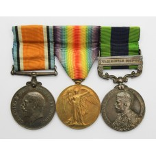 WW1 British War Medal, Victory Medal and India General Service Me