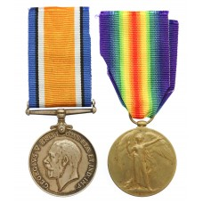 WW1 British War & Victory Medal Pair - Gnr. F.L. Lucas, Royal Artillery
