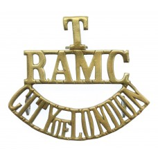 City of London Territorials Royal Army Medical Corps (T/RAMC/CITY OF LONDON) Shoulder Title
