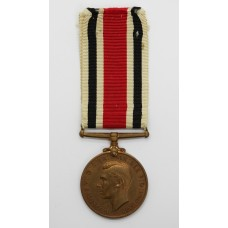 George VI Special Constabulary Long Service Medal - Norman Irving