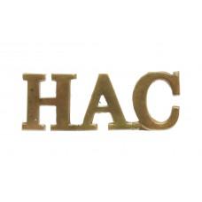 Honourable Artillery Company (H.A.C) Shoulder Title