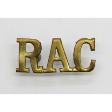 Royal Armoured Corps (R.A.C.) Shoulder Title