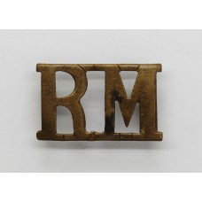 Royal Marines (R.M.) Shoulder Title