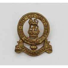 14th/20th Kings Hussars Collar Badge - King's Crown